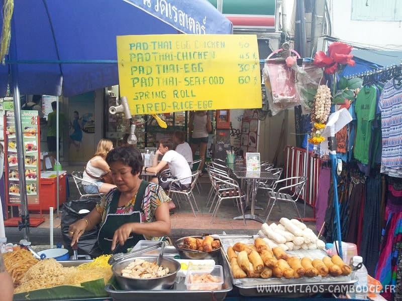 Coût de la vie Thaïlande