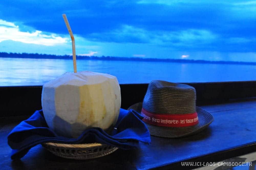 Jasmine Boat sur le Mekong