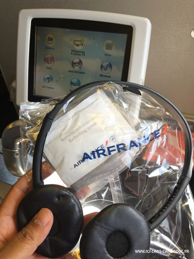 Casque Air France