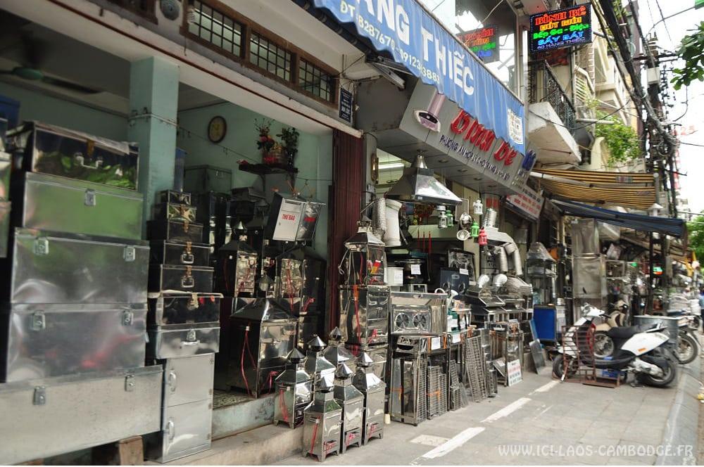 Une rue du vieux quartier Hanoï