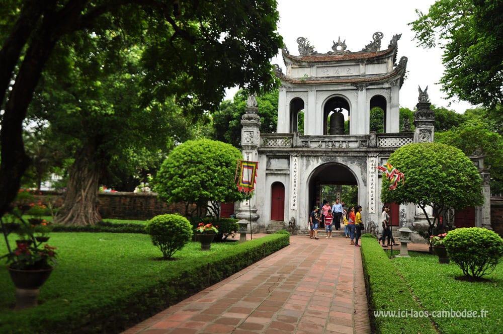 Temple- de la Littérature - Visiter Hanoï