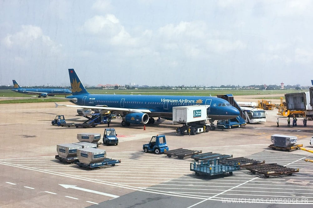 test du vol paris hano vietnam airlines et air france