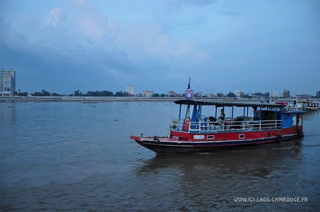 Croisière à Phnom Penh