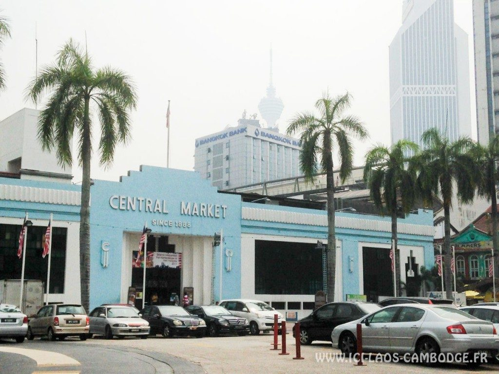Visiter Kuala Lumpur - Central Market