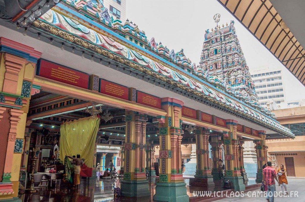 Visiter Kuala Lumpur - Temple Sri Maha Mariamman