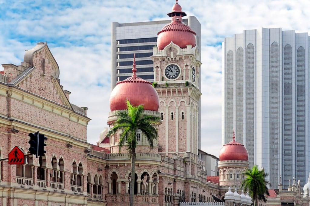 Visiter Kuala Lumpur - Tour de l'horloge du Sultan Abdul Samad