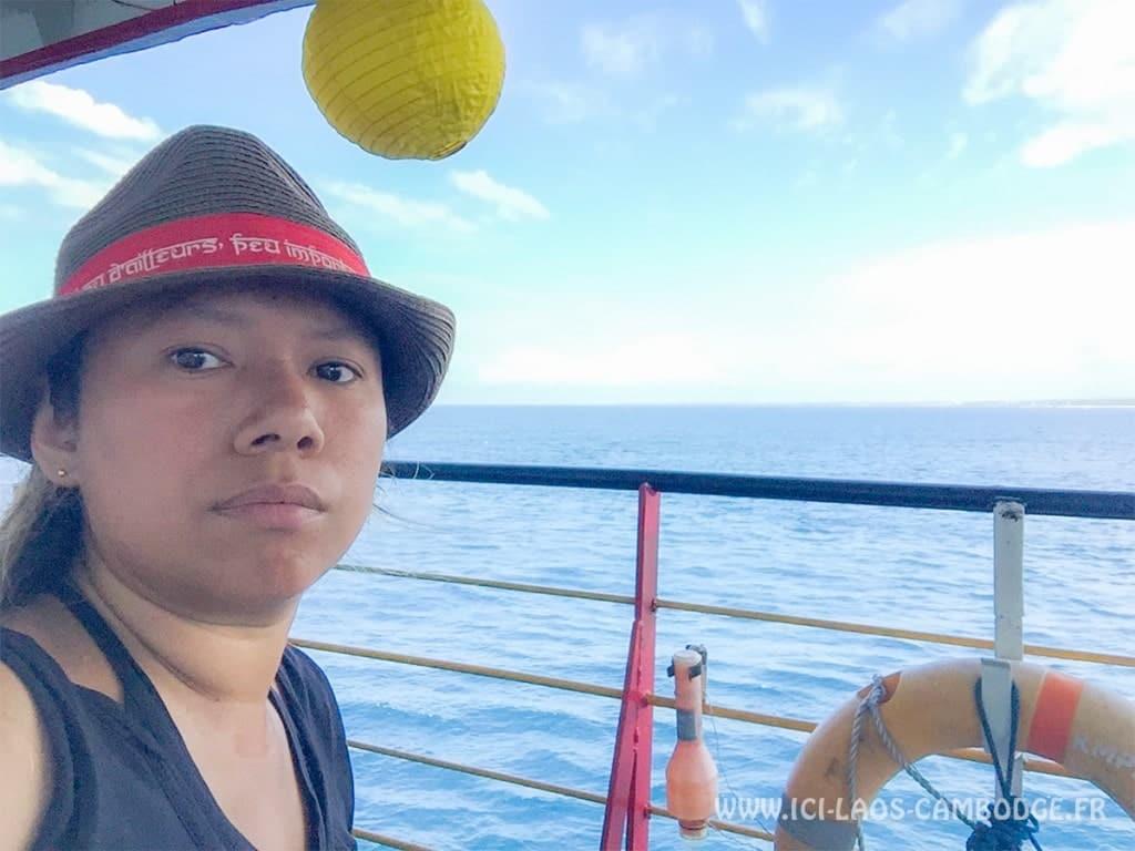 Ilc sur le ferry