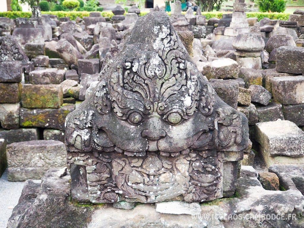 Ruine du temple Sewu à Borobodur