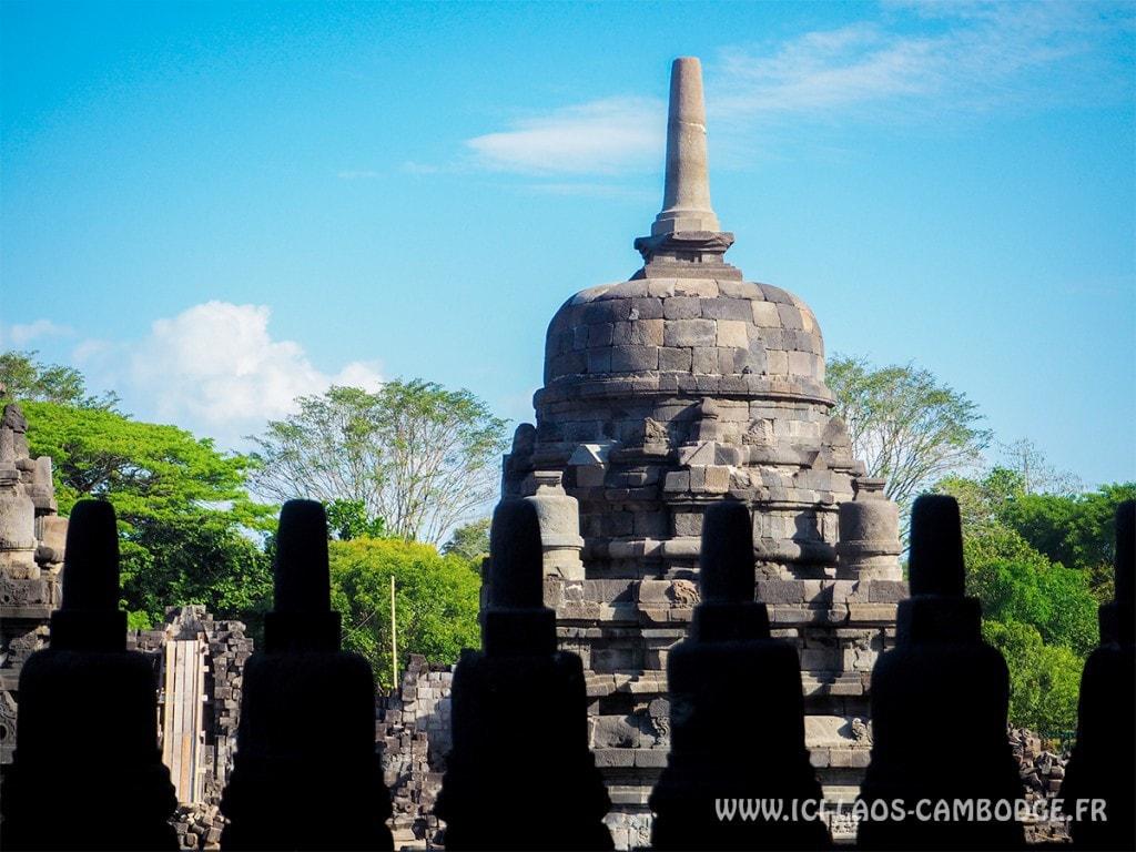 Temple Sewu à Prambanan