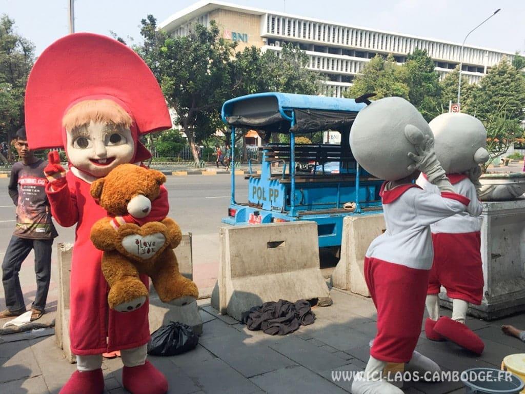 Habitants de Jakarta