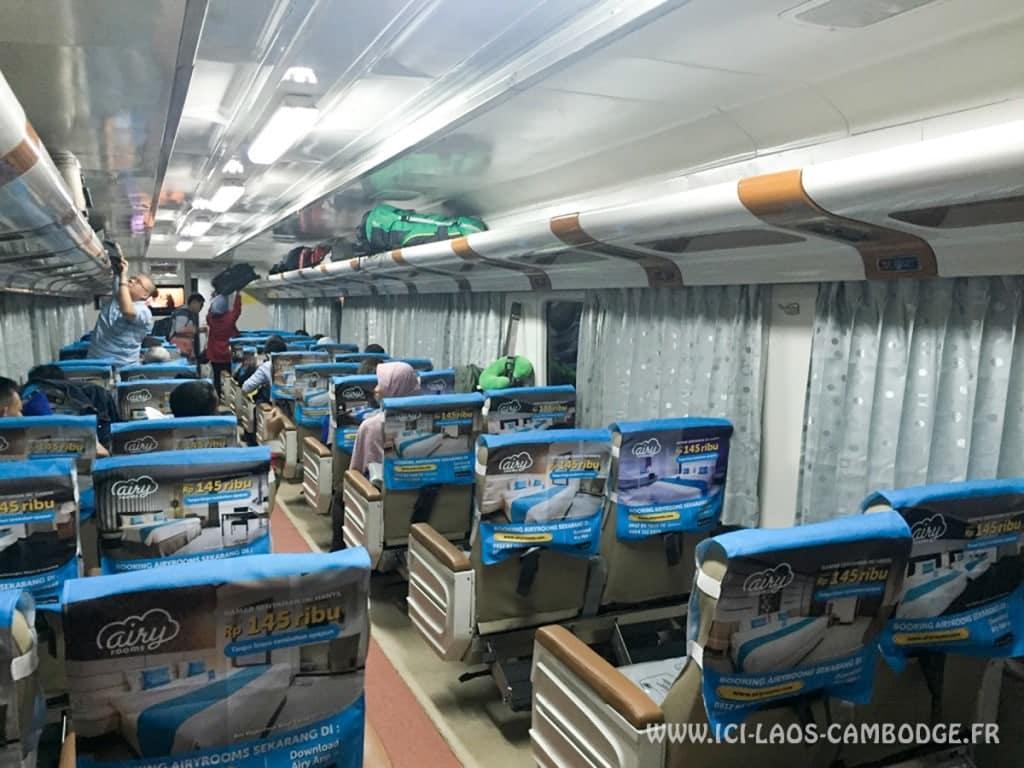 Train de nuit Jakarta