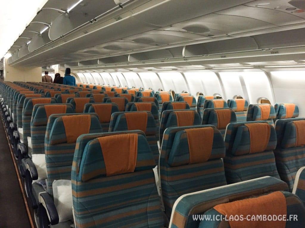 Classe eco pour le vol Oman Air