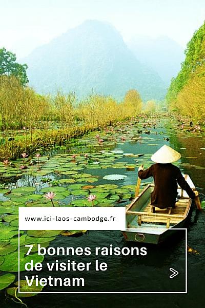 7 raisons de visiter le Vietnam