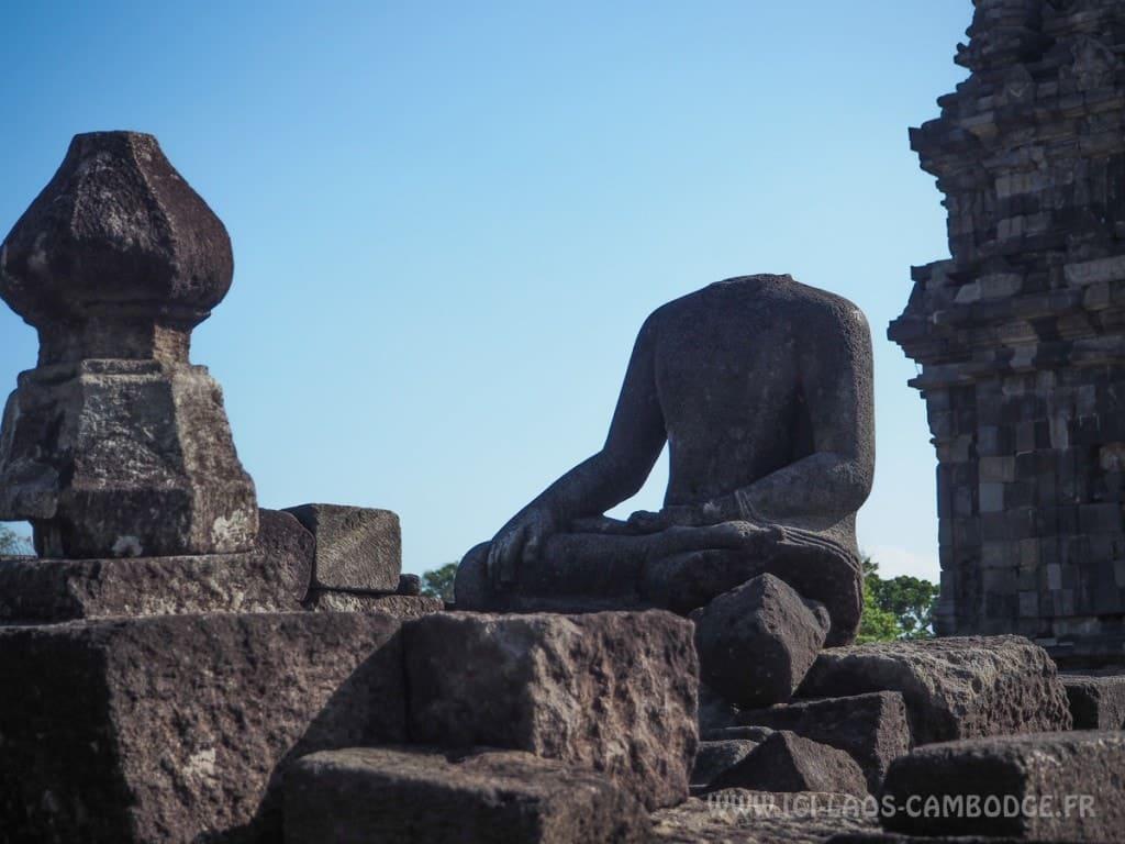 Visiter le temple de Prambanan - ruines Candi Sewu