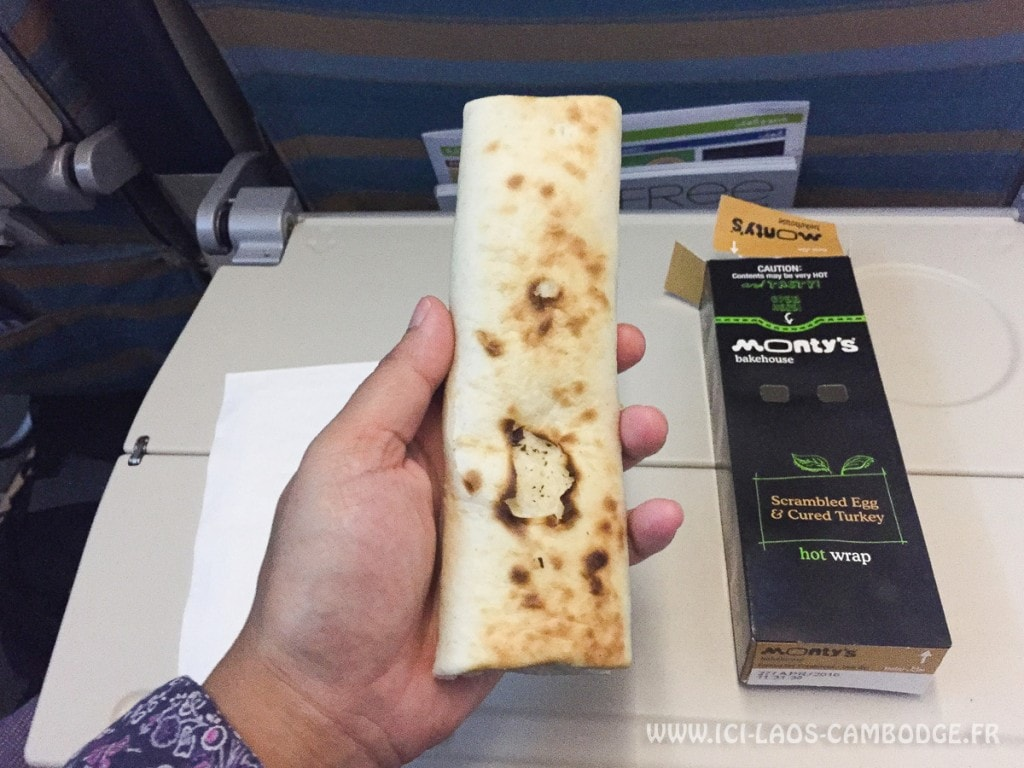 Snack - vol Oman Air