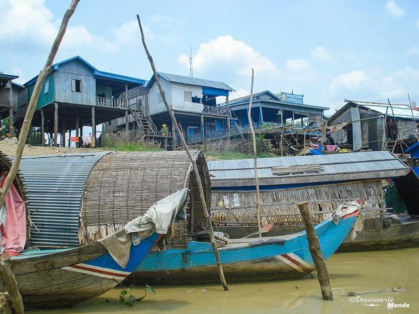 Bateau depuis Battambang