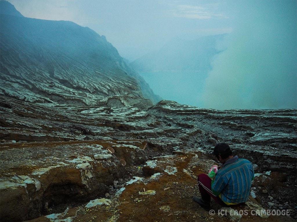Autre vue du volcan Kawah Ijen