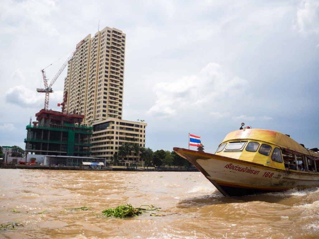Balade sur le Chao Phraya