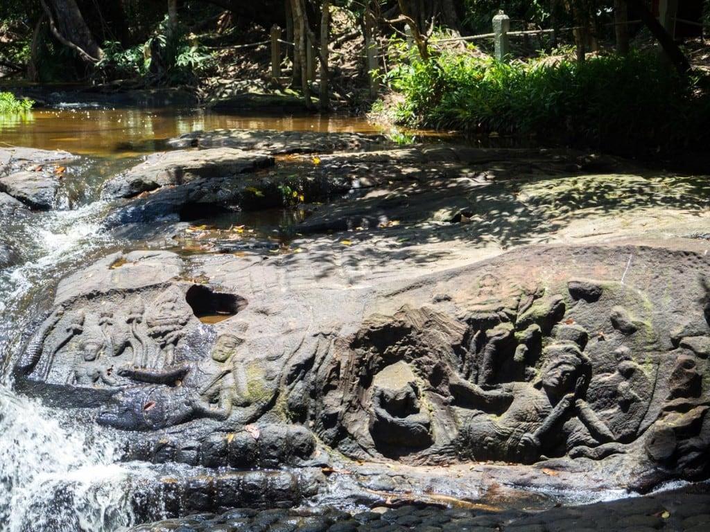 Une journée loin de la foule d'Angkor: Banteay Srei et Kbal Spean