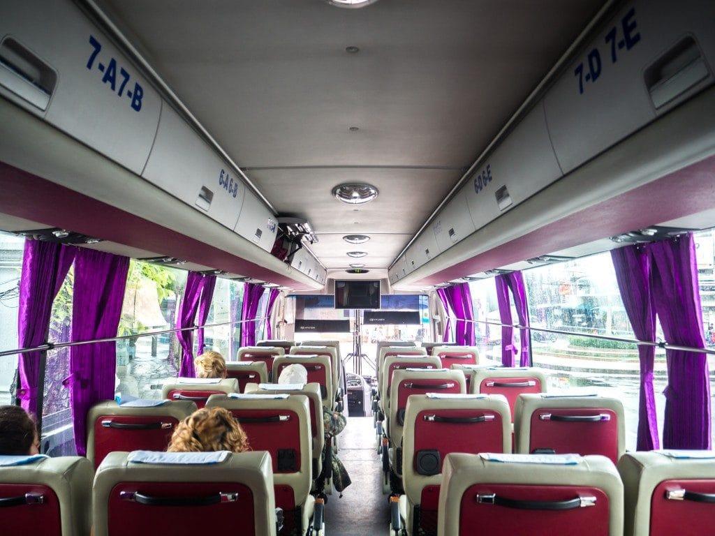 Bus Giant Ibis Bangkok - Siem Reap