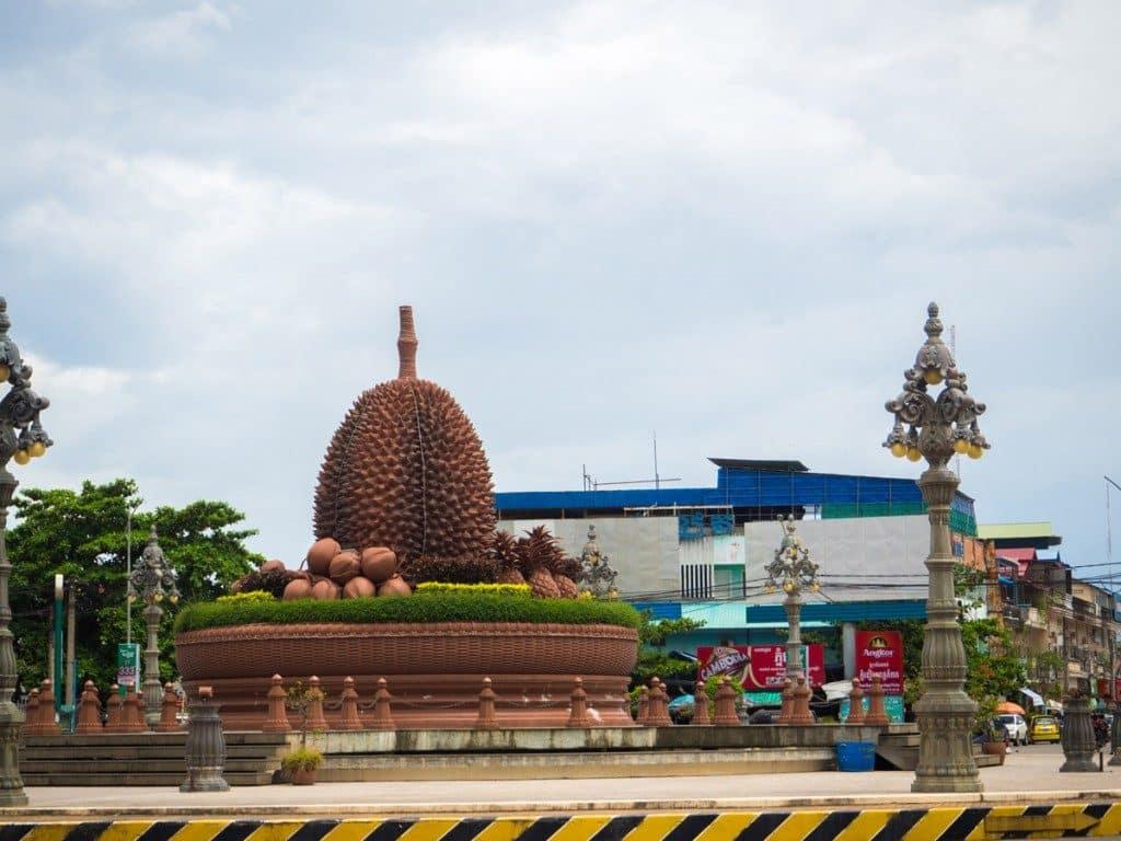 Durian géant à Kampot
