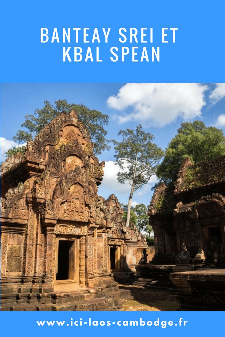 Banteay Srei et Kbal Spean