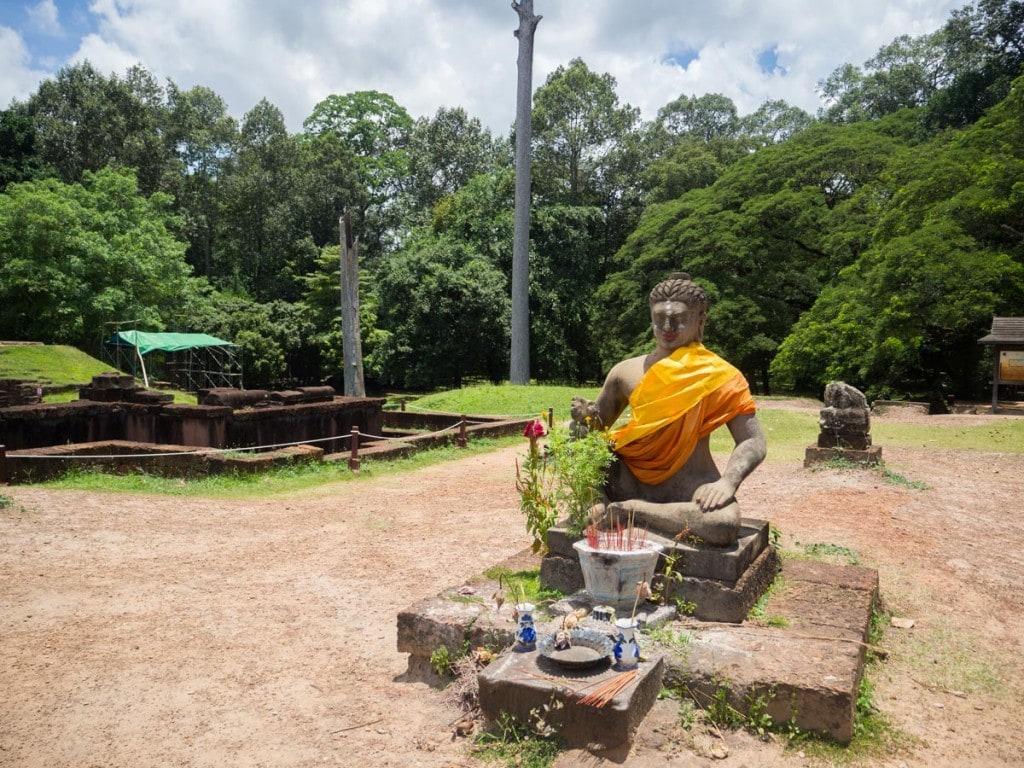 Visiter les temples d'Angkor - Terrasse du roi lépreux