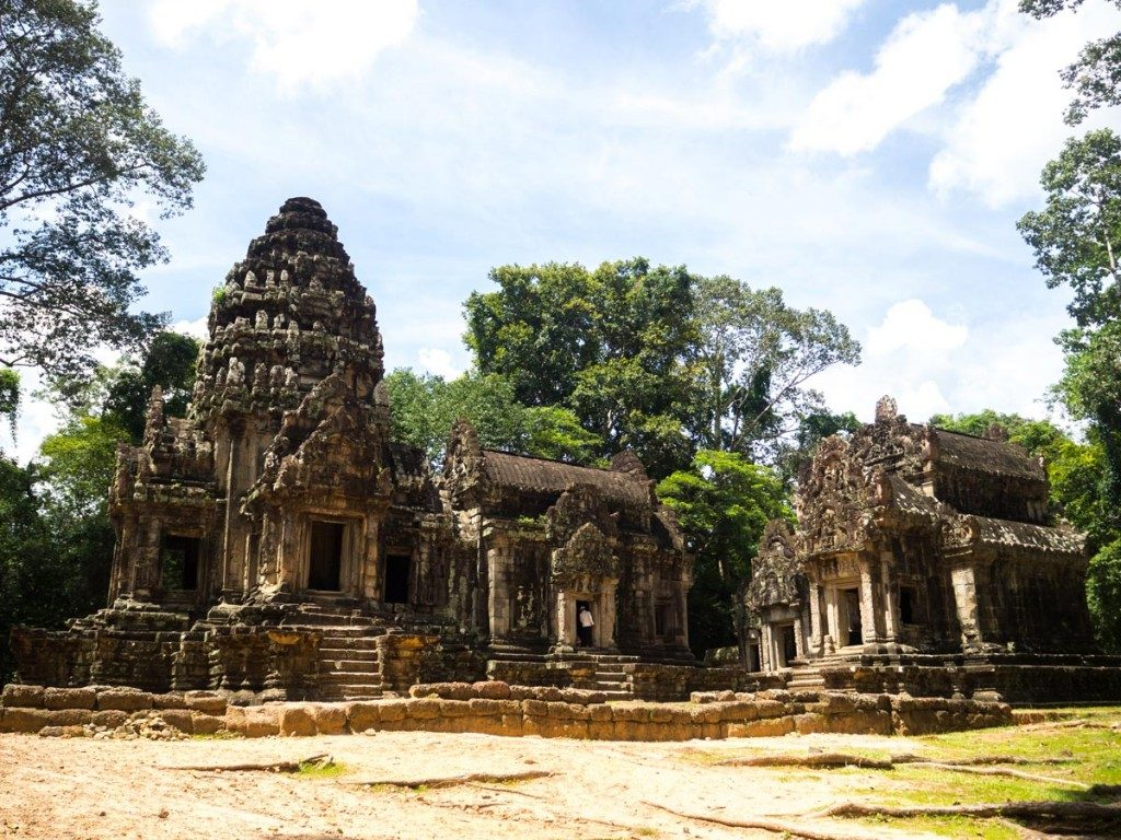 Visiter les temples d'Angkor - Temple Thommanon