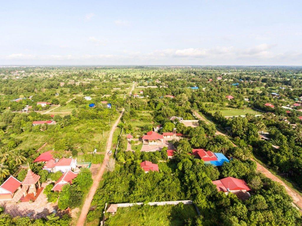 Vue campagne Siem Reap