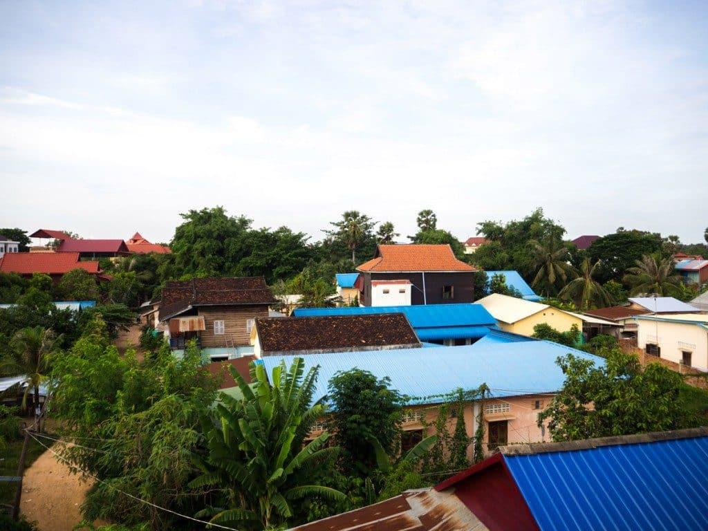 Vue du balcon Anou Home