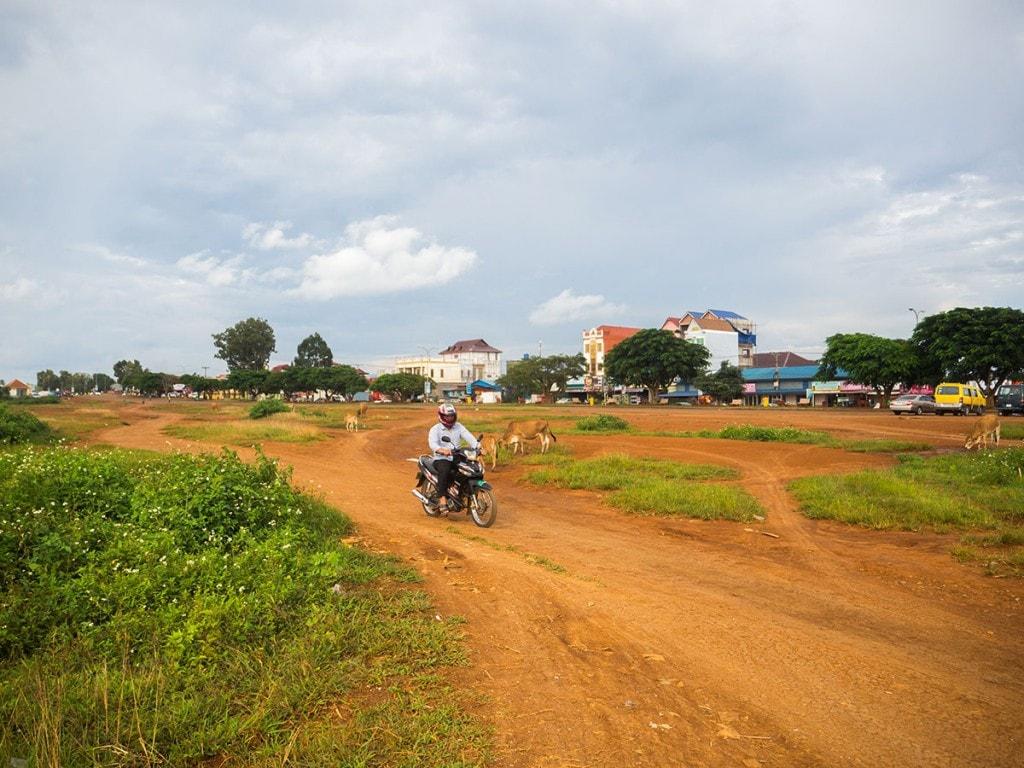Ancien aéroport à Sen Monorom