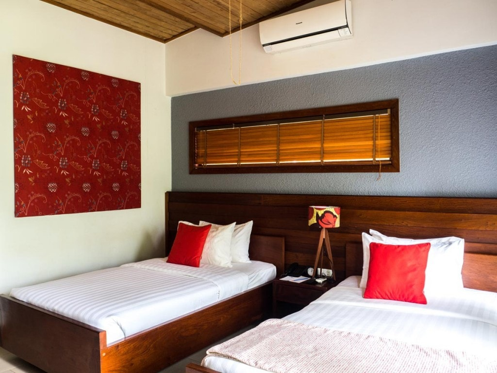 Chambre lits jumeaux Mayura Hill Resort