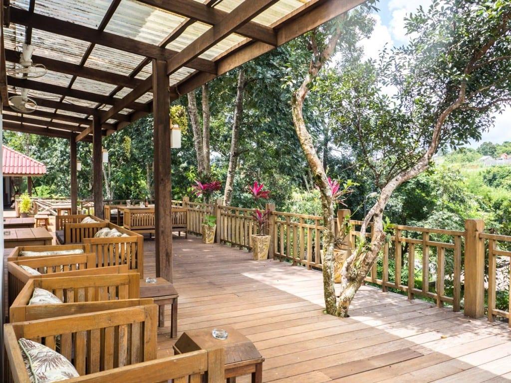 Salon extérieur Mayura Hill Resort