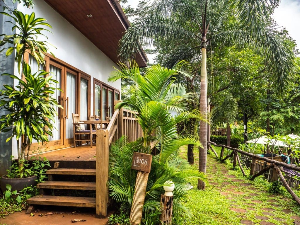Balcon privé Mayura Hill Resort