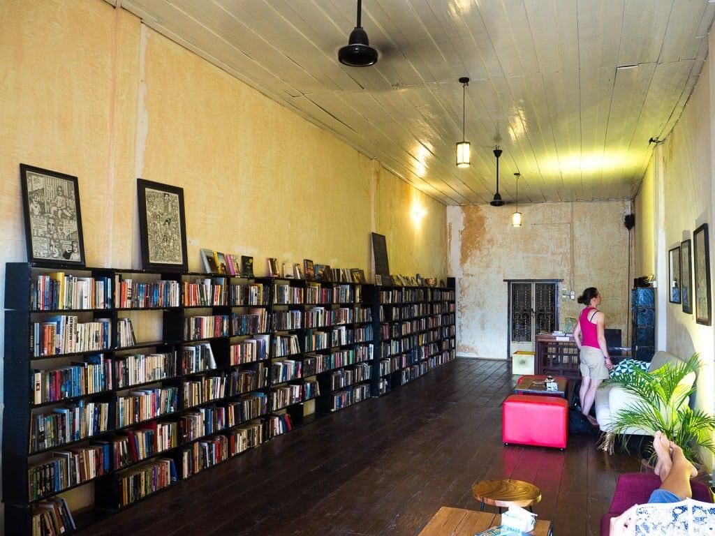 Bookish Bazaar à Kampot
