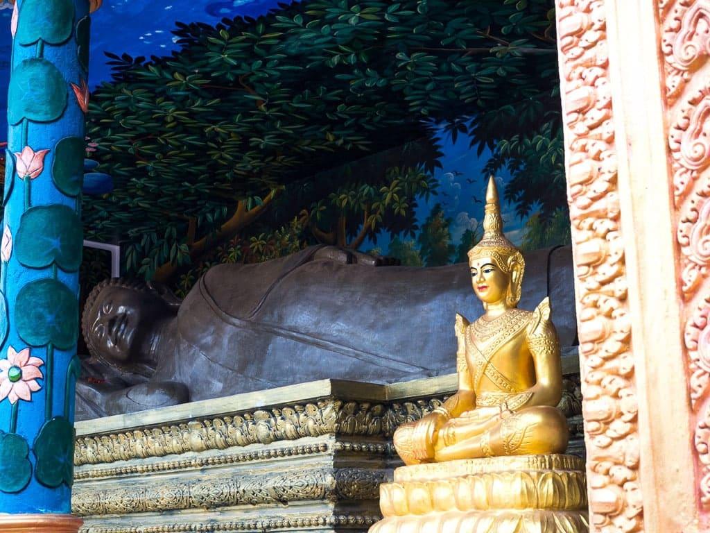 Bouddha couché Kampot