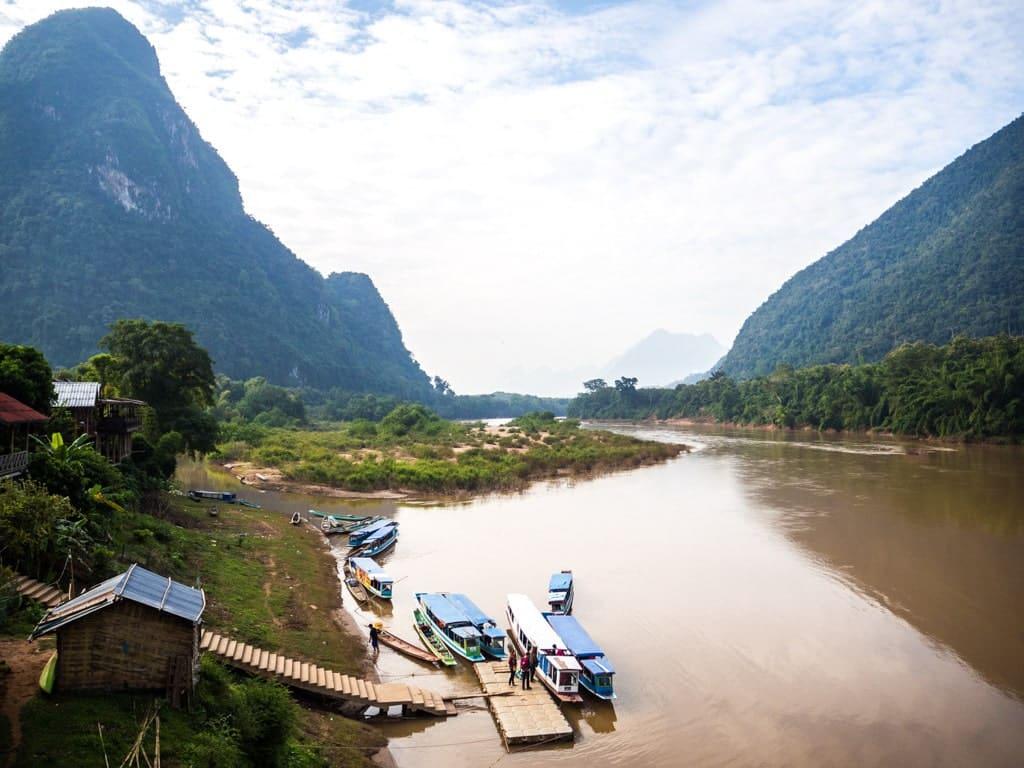 Embarcadère de Muang Ngoi