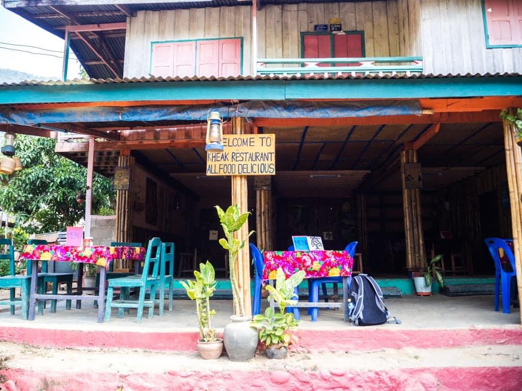 Kheak restaurant à Muang Ngoi