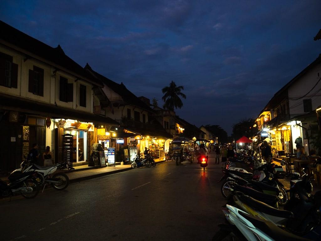 Luang Prabang le soir