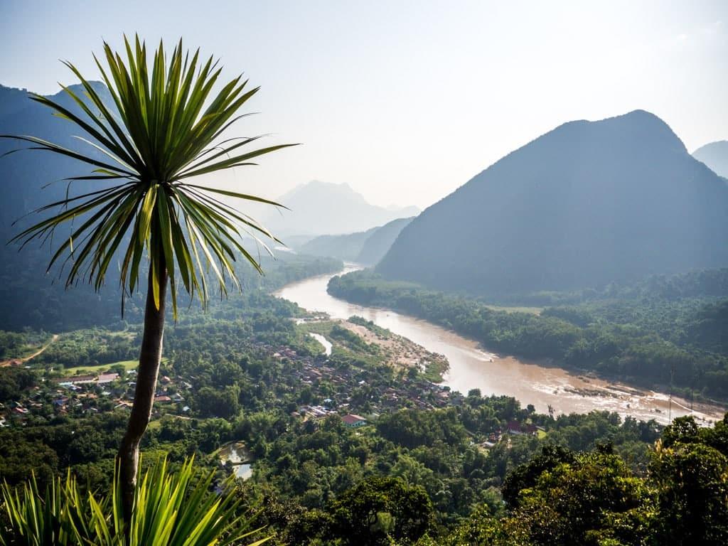 Point de vue depuis Phanoi Cave