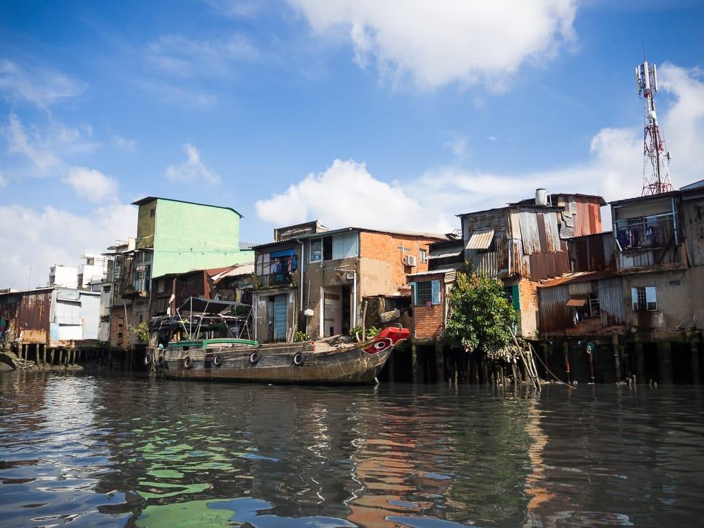 Bidonville Saigon