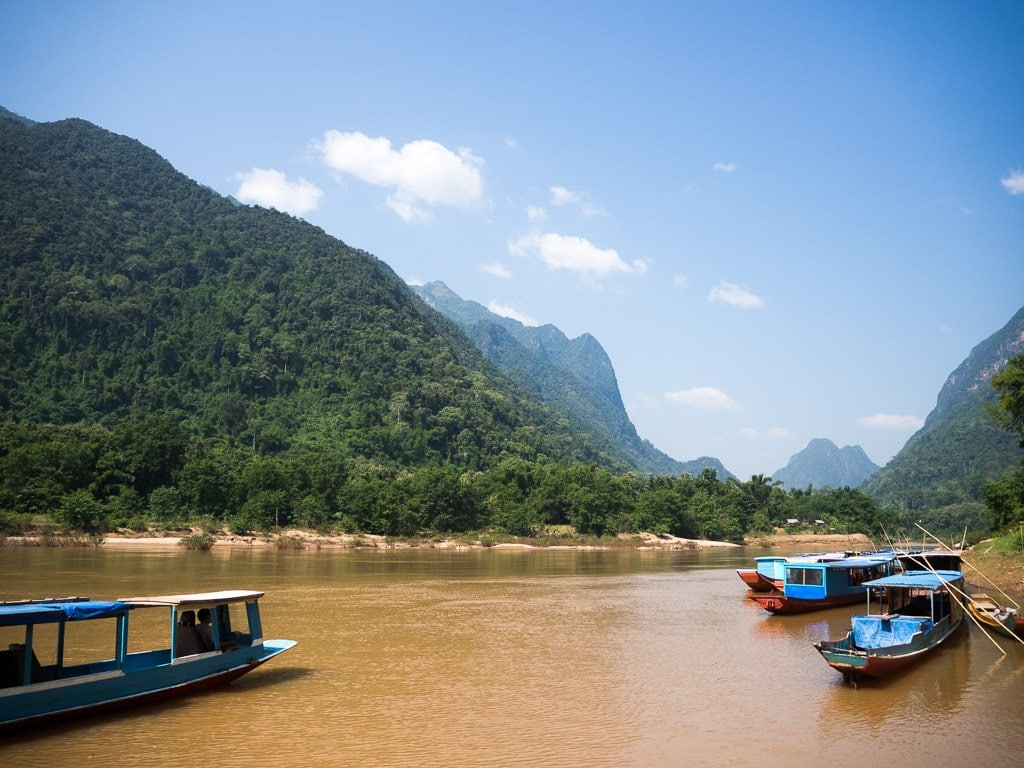 Prendre le bateau de Muang Ngoi à Muang Khua