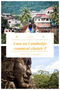 Laos ou Cambodge, comment choisir ?