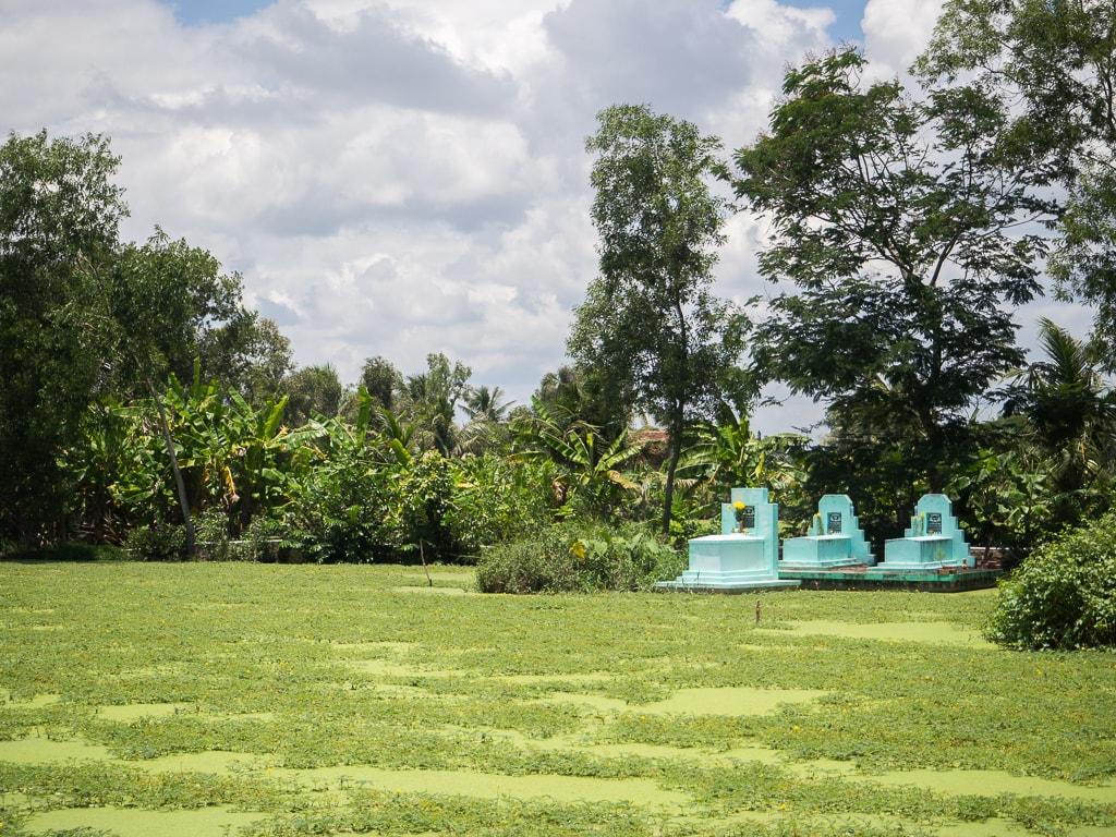 Tombes Delta du Mékong