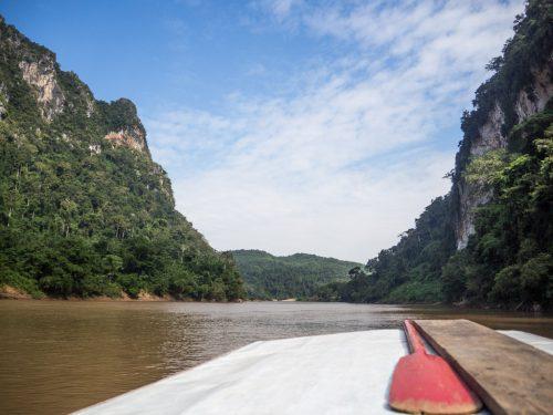 De Muang Ngoi à Muang Khua: traversée de la Nam Ou en bateau