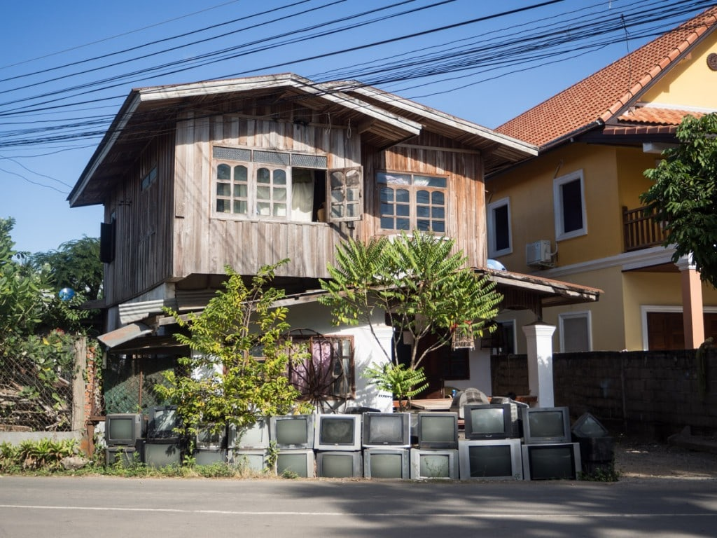 Collection de tv à Luang Prabang