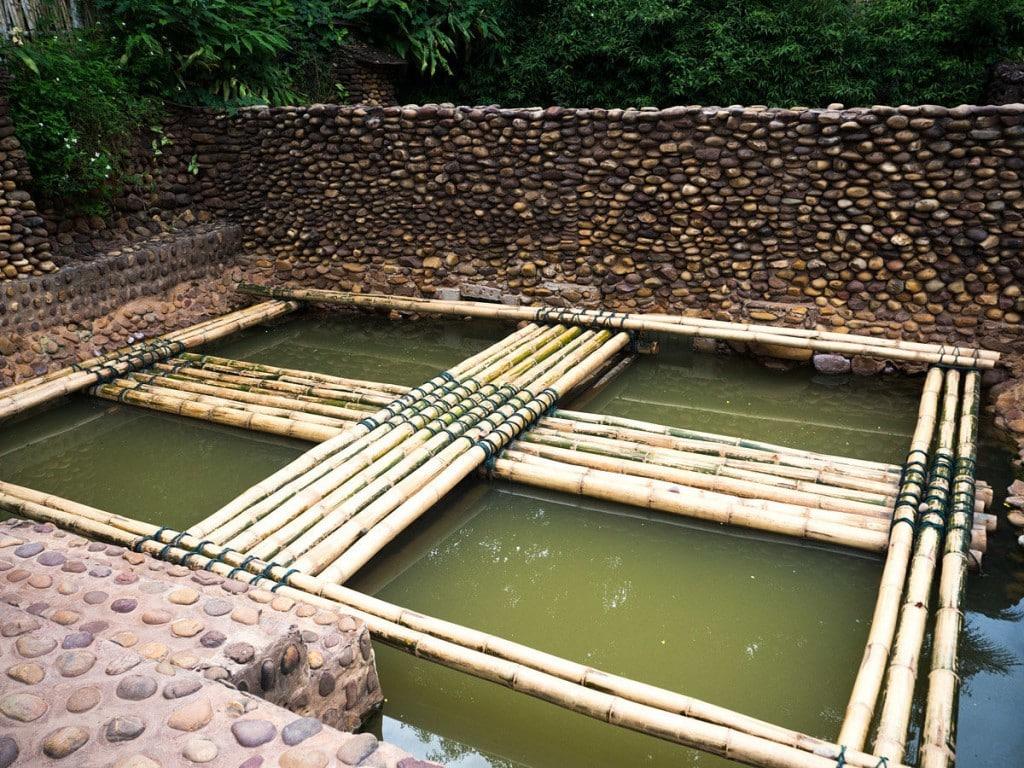 Hot springs Muang La