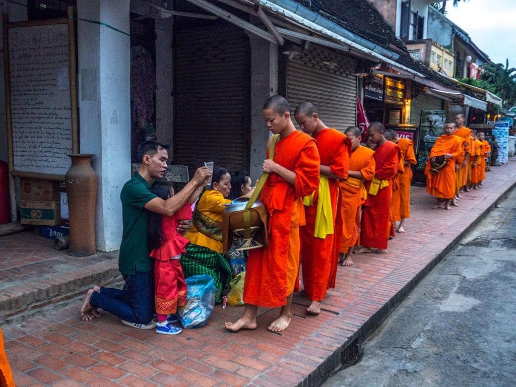 Quête des moines