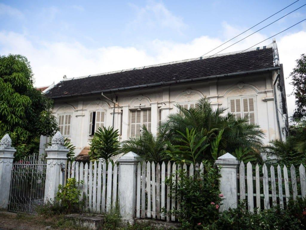 Villa coloniale française