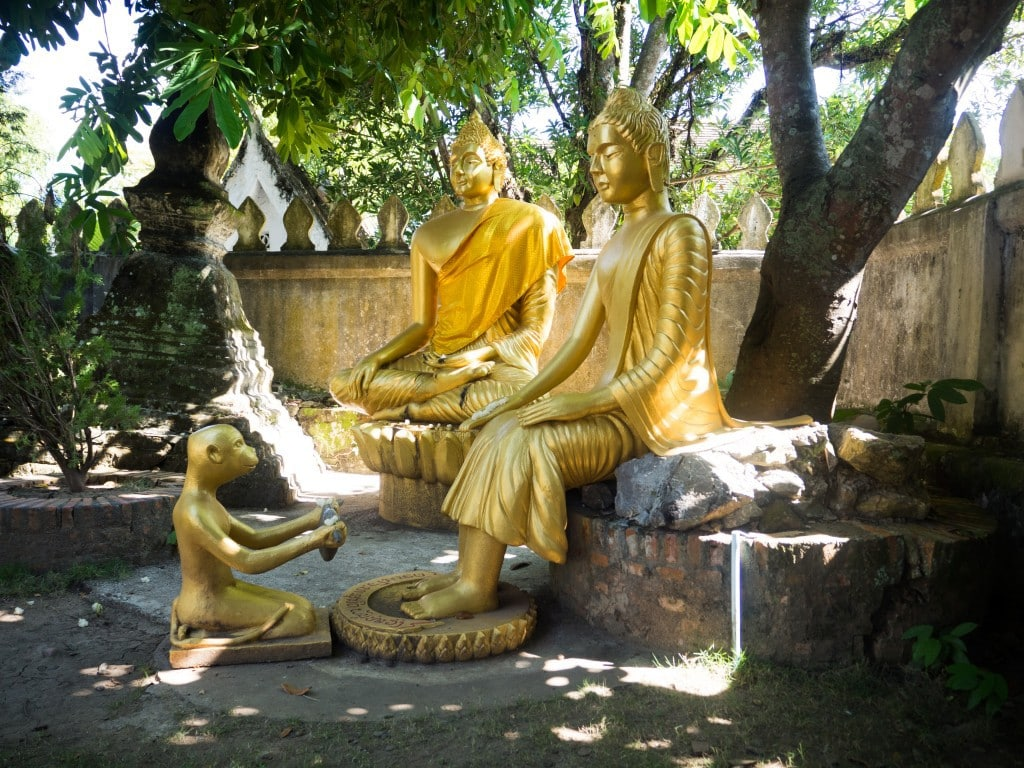 Vat Chom Khong - Bouddha